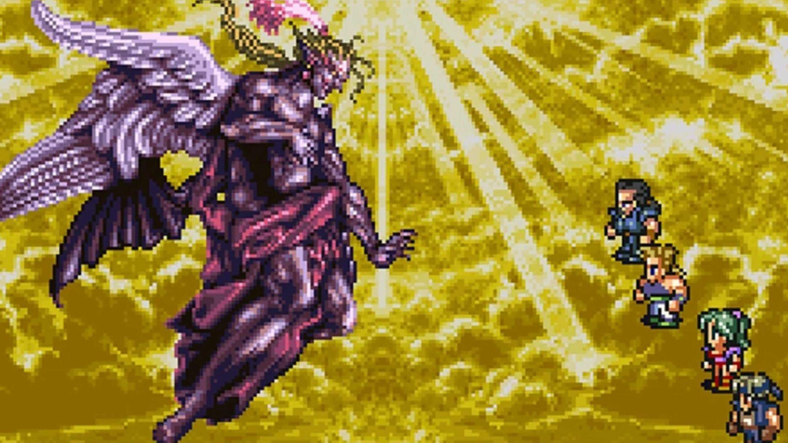 Final Fantasy VI final boss Kefka