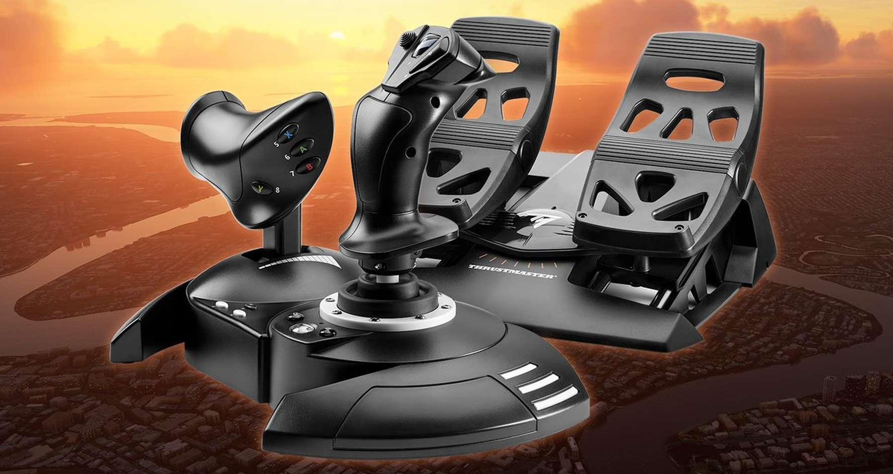 Microsoft Flight Simulator Thrustmaster