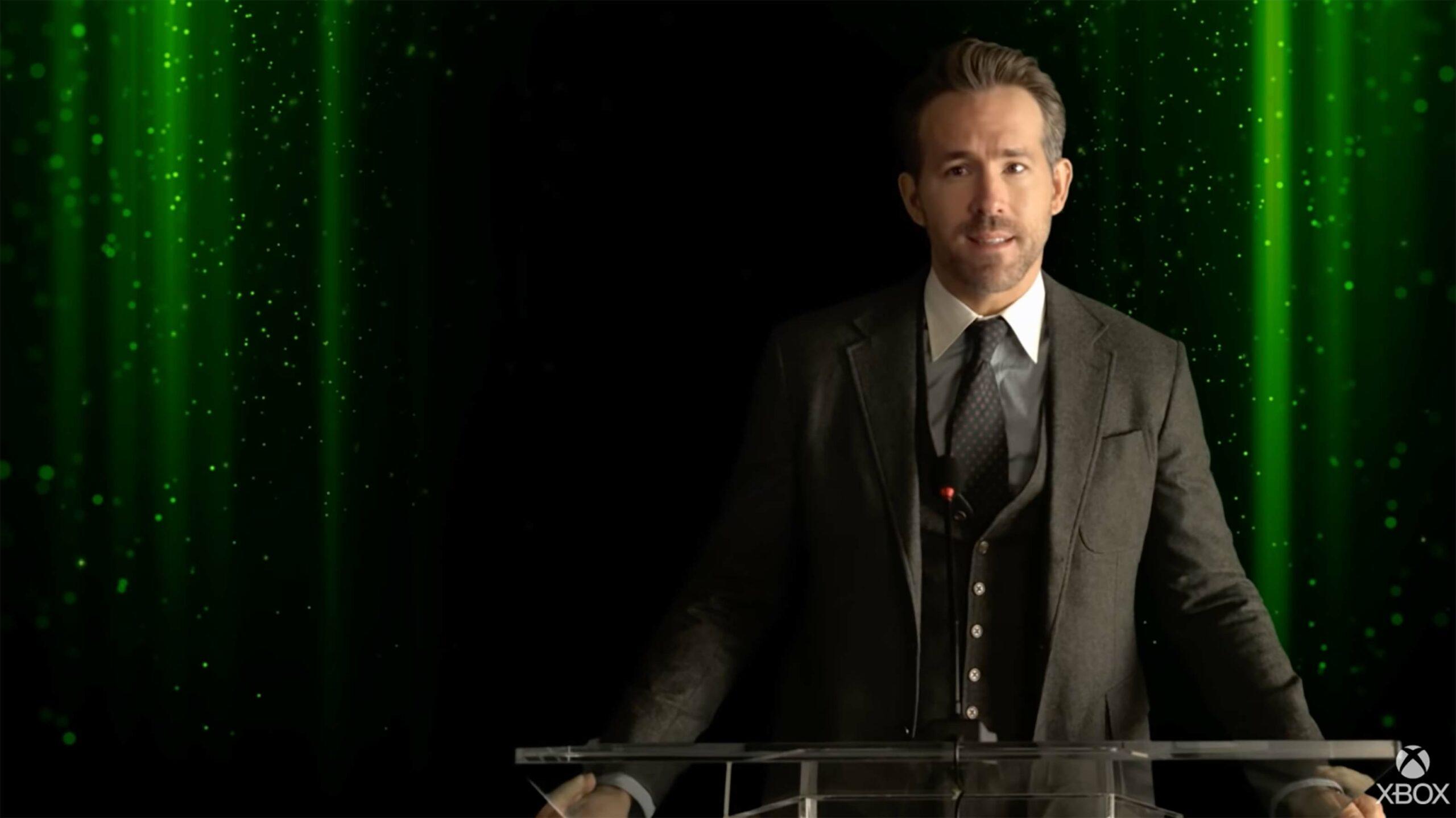 Ryan Reynolds Xbox
