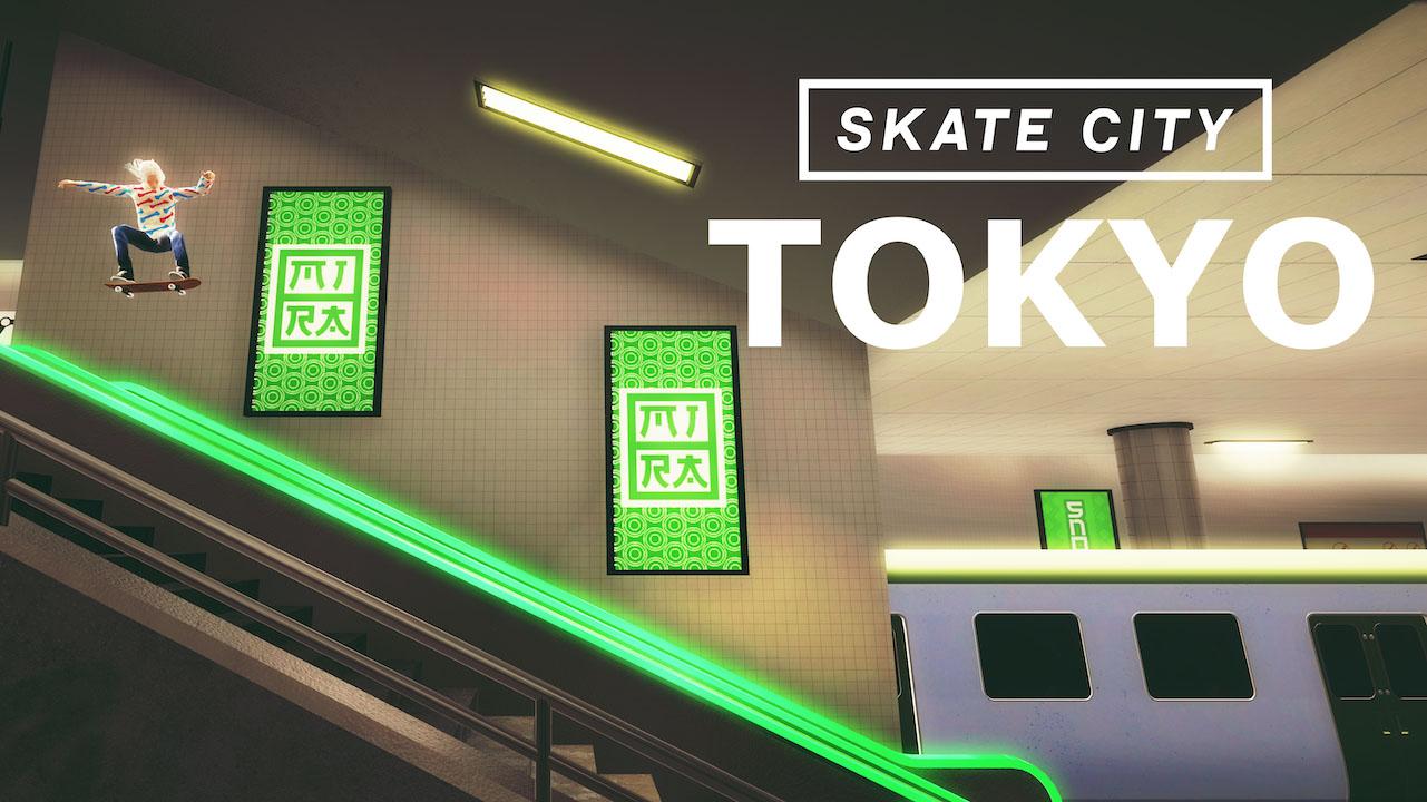 Skate City Tokyo map