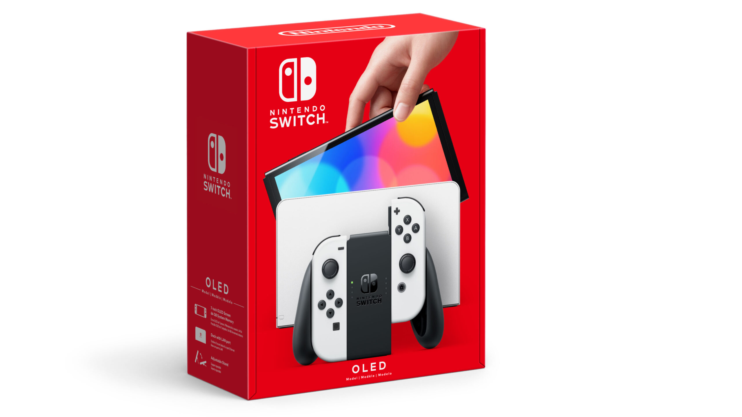 Switch OLED Model box