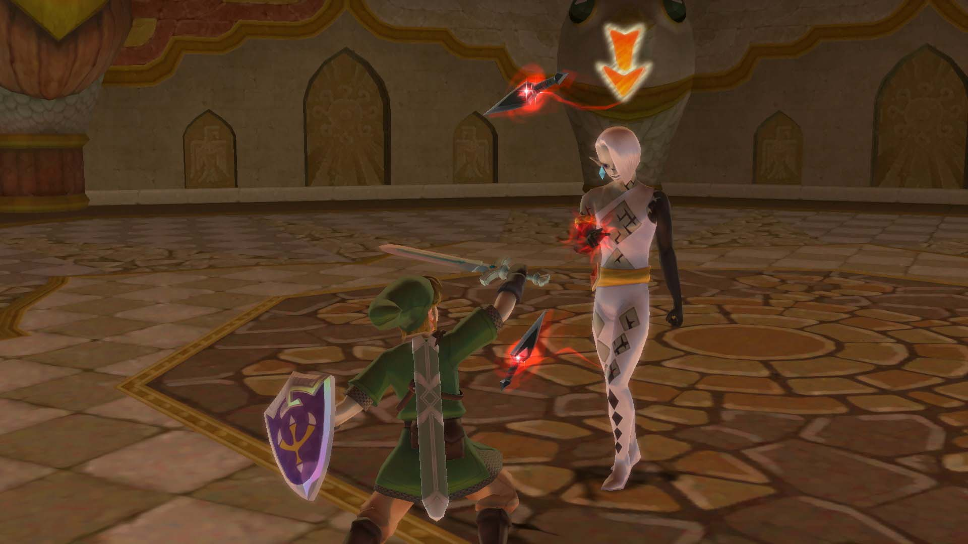 Zelda Skyward Sword screenshot
