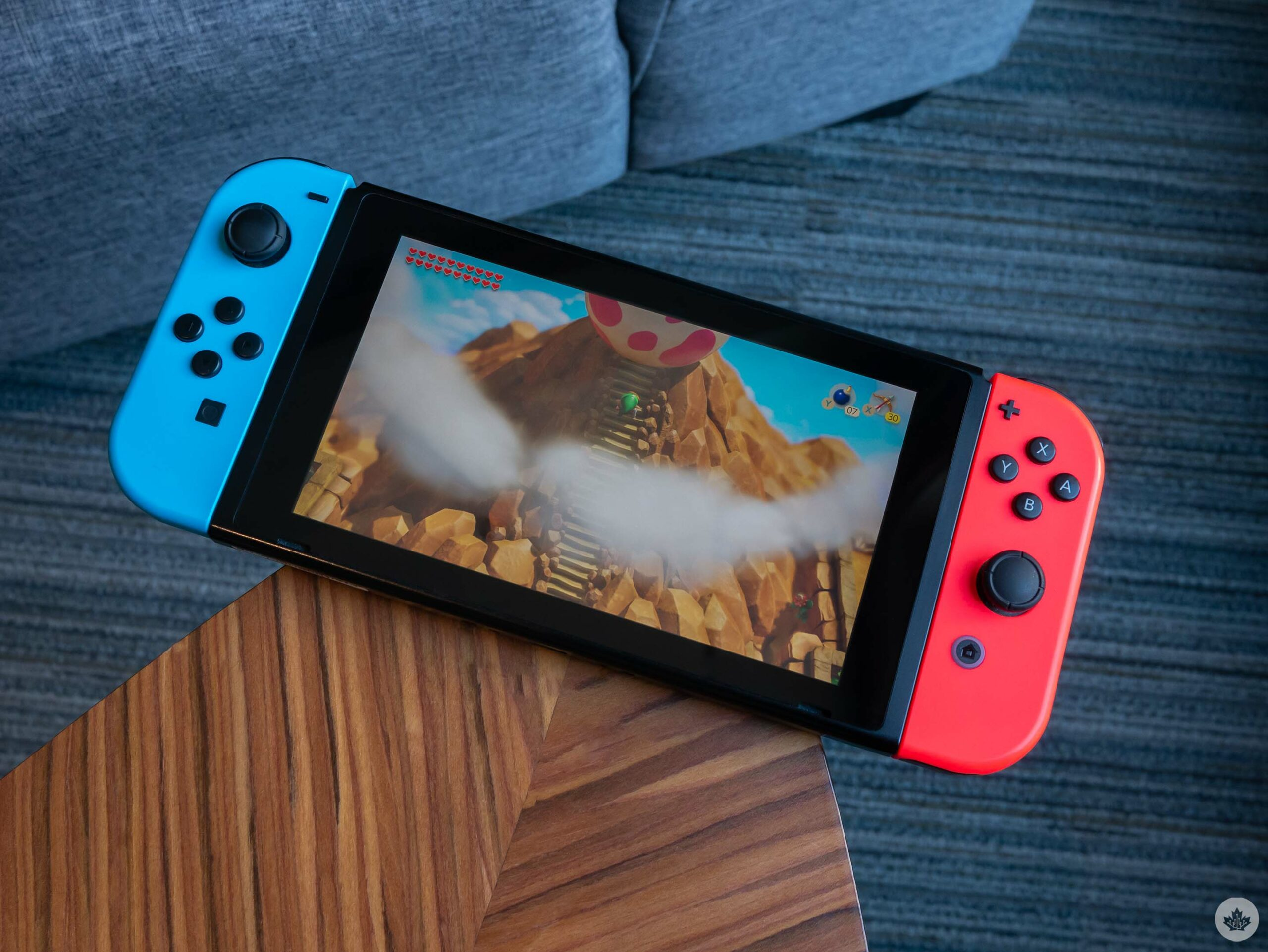 Switch red and blue Joy-Cons