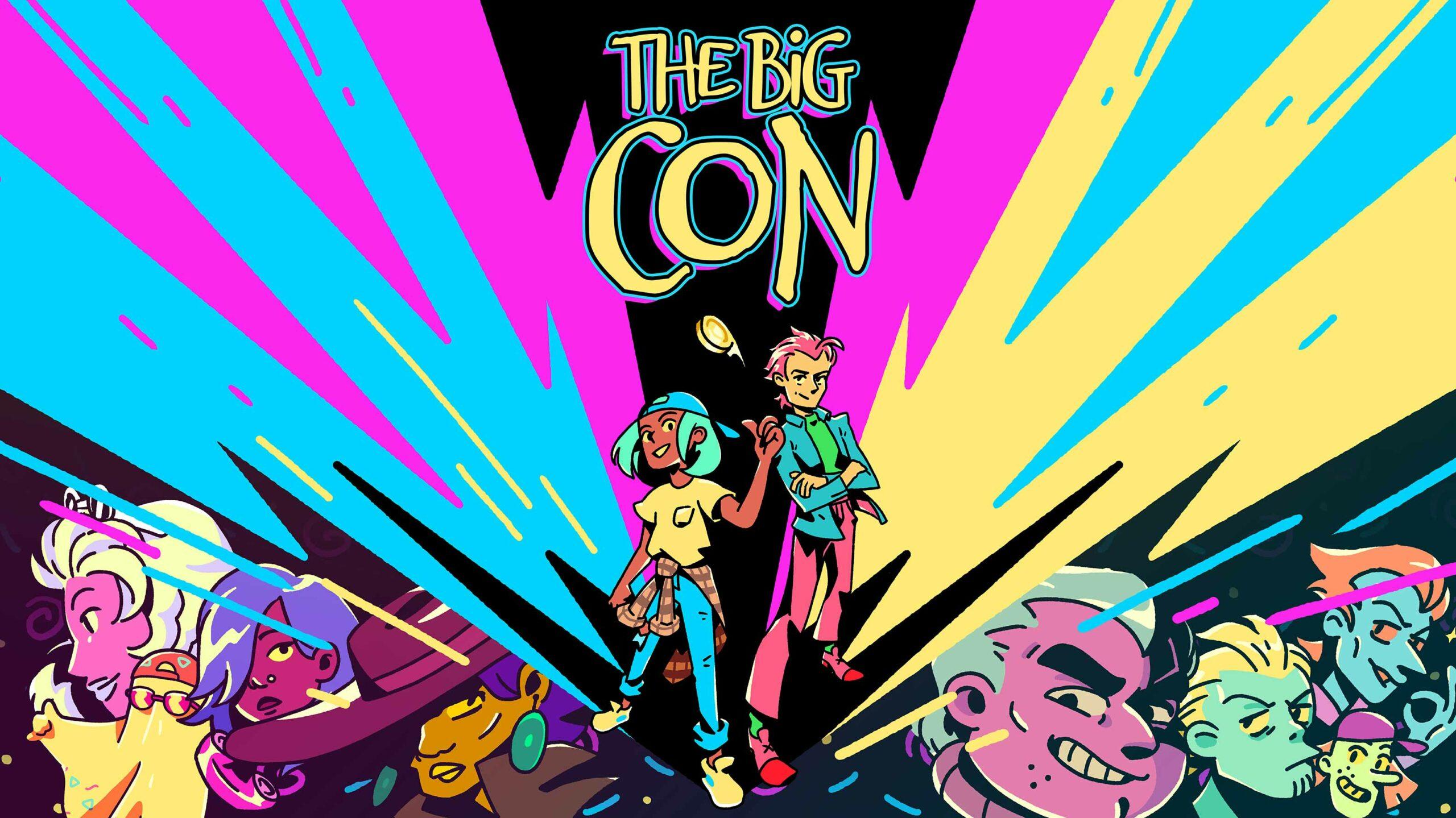 The Big Con header