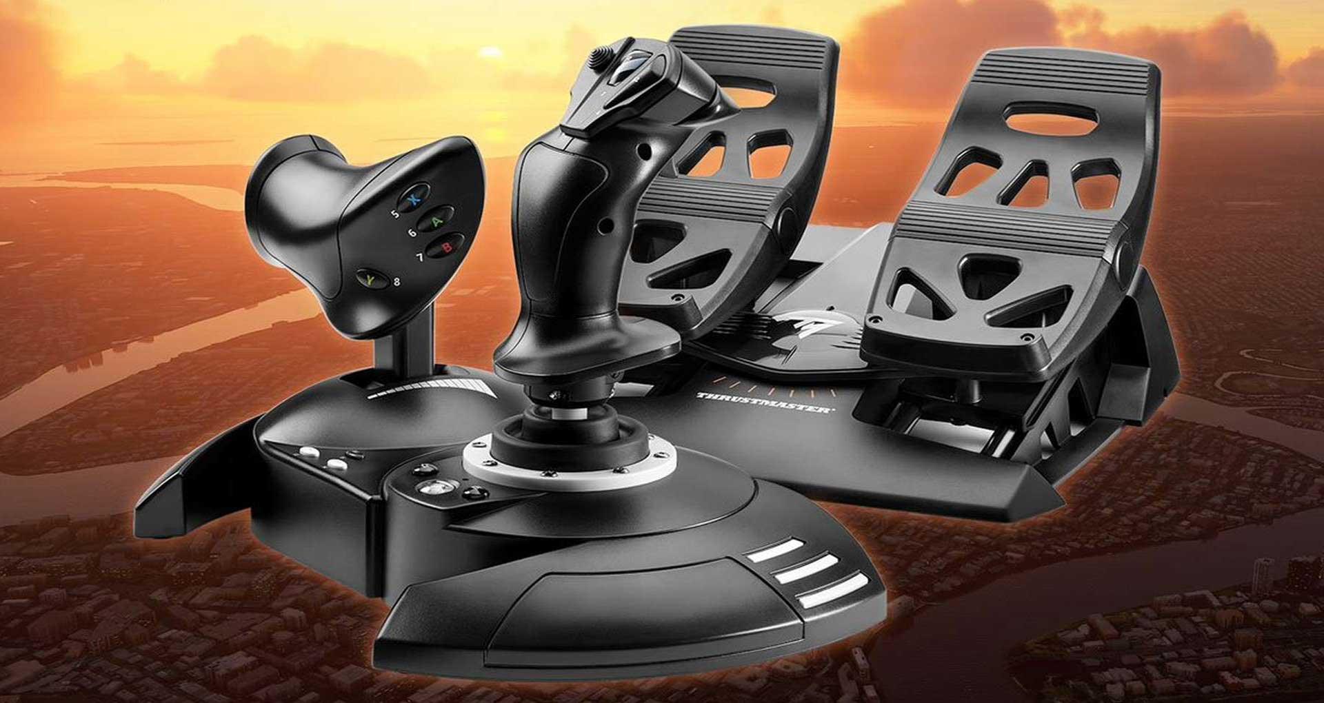 Microsoft Flight Simulator Thrustmaster kit