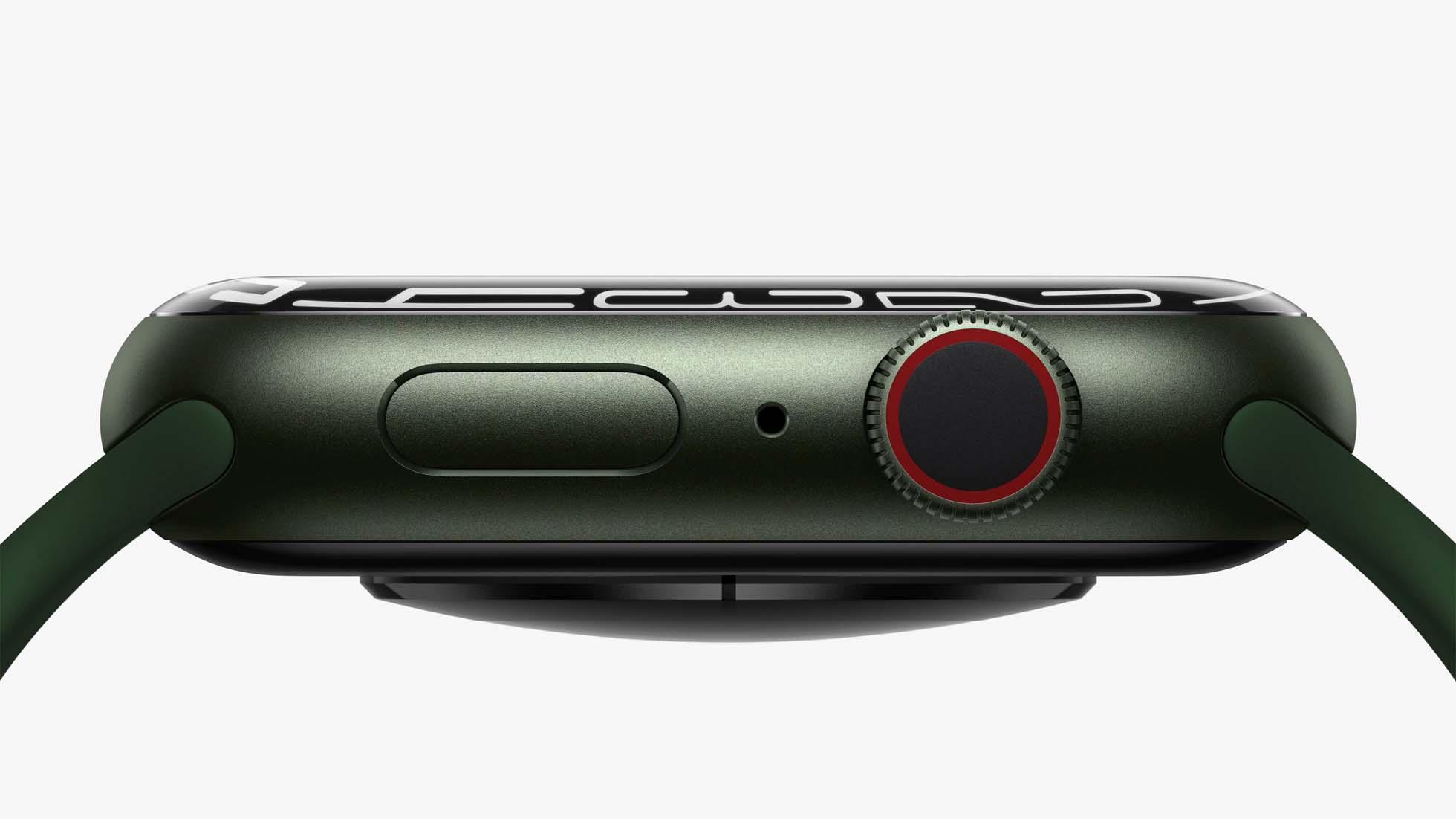 Apple Watch Series 7 side