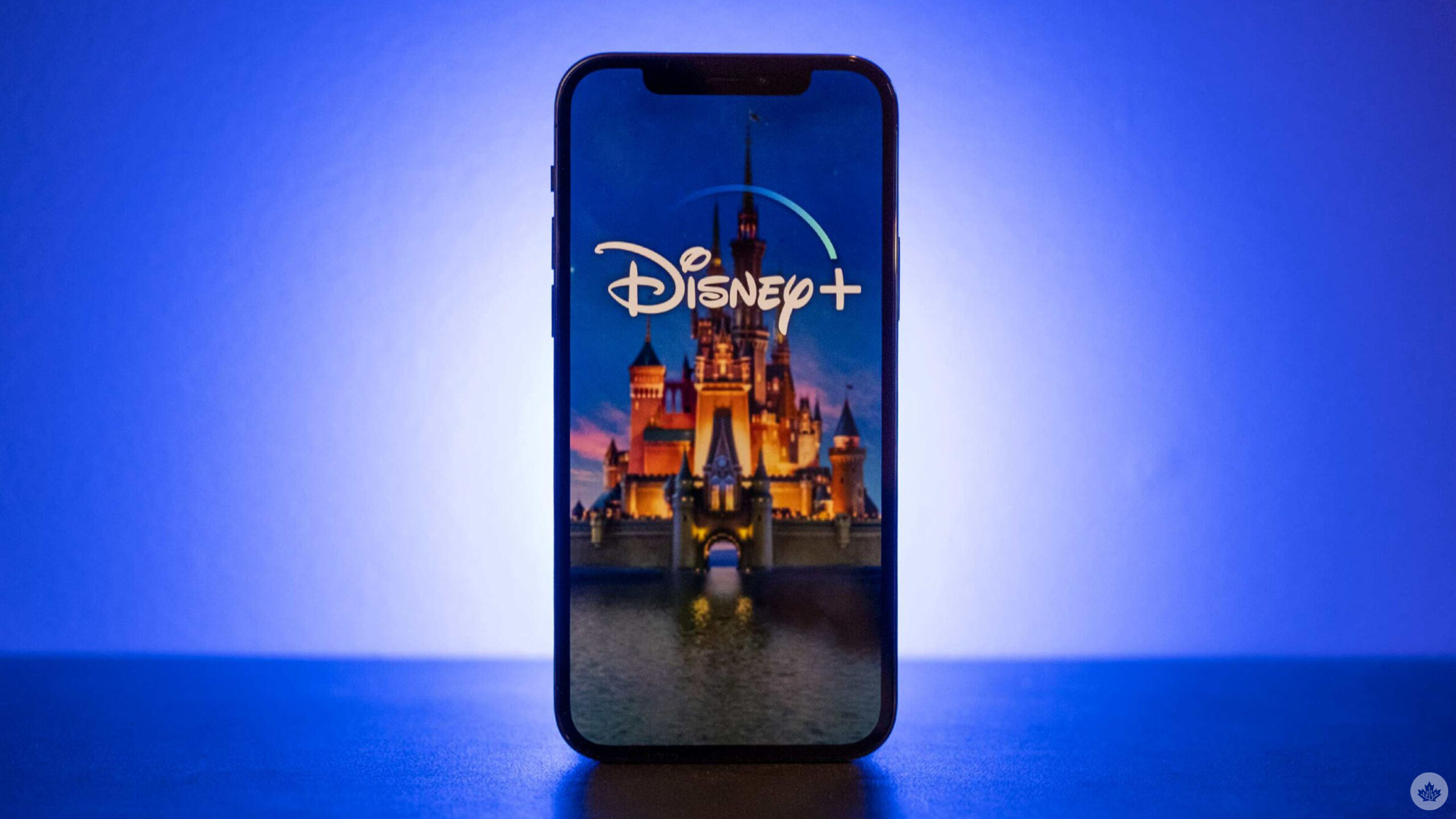 Disney+ on an iPhone
