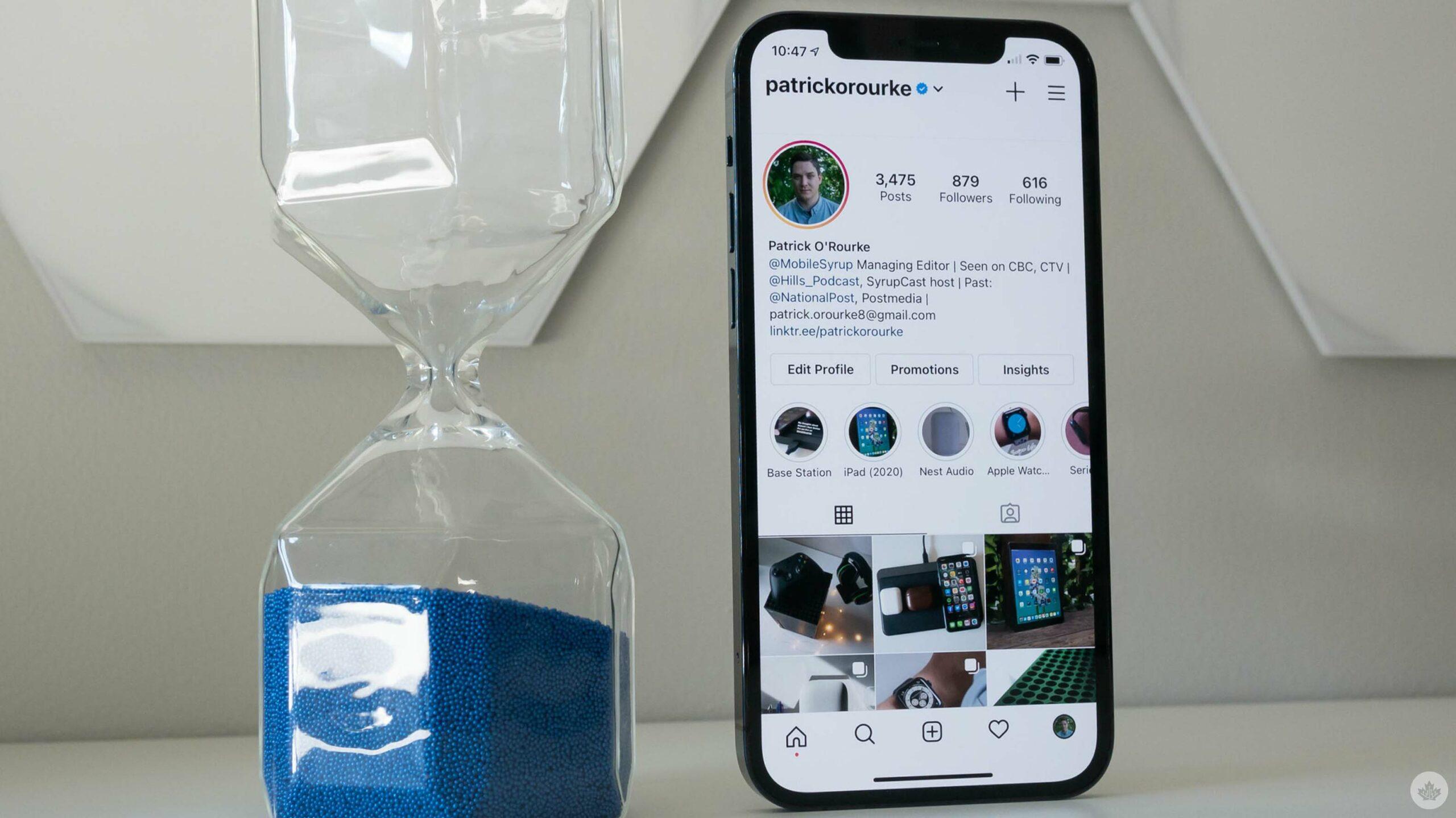 Instagram on iPhone