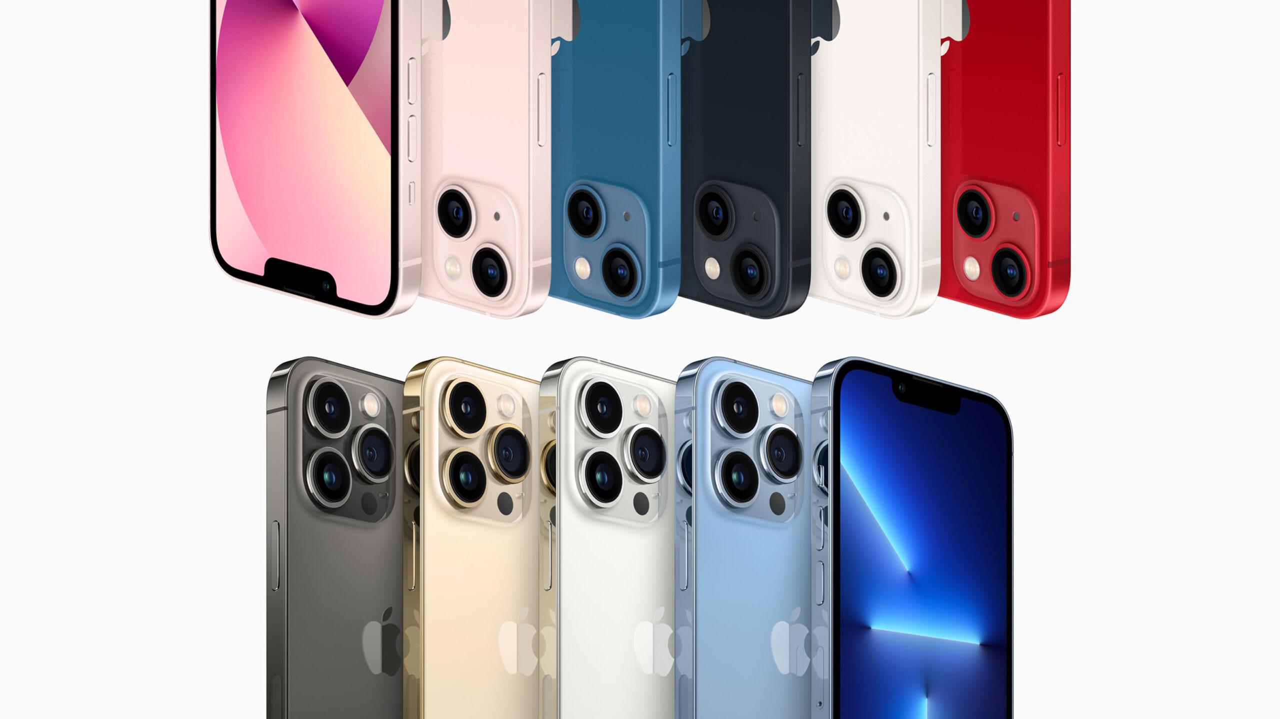iPhone 13 line