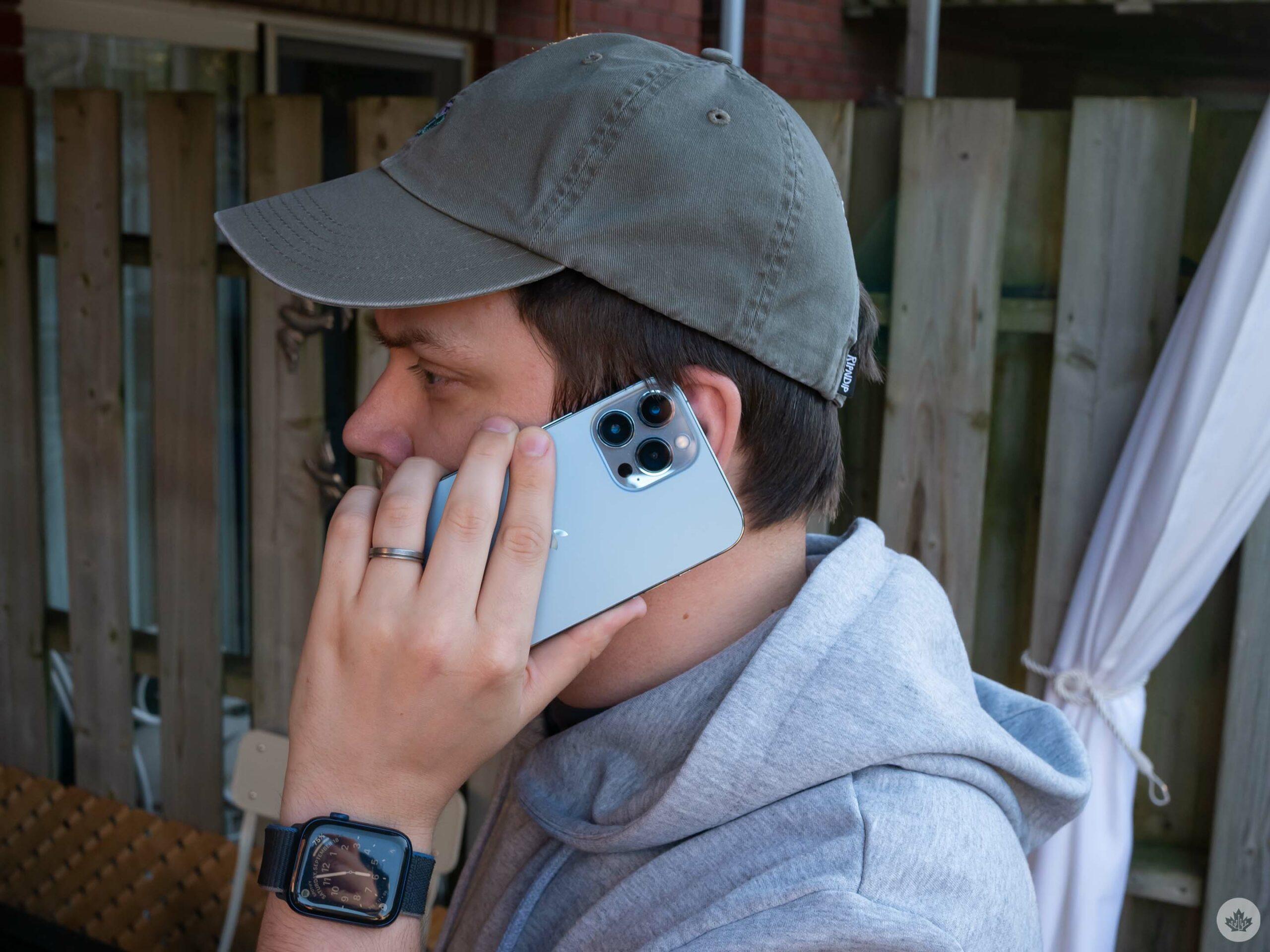 iPhone 13 Pro Max phone call