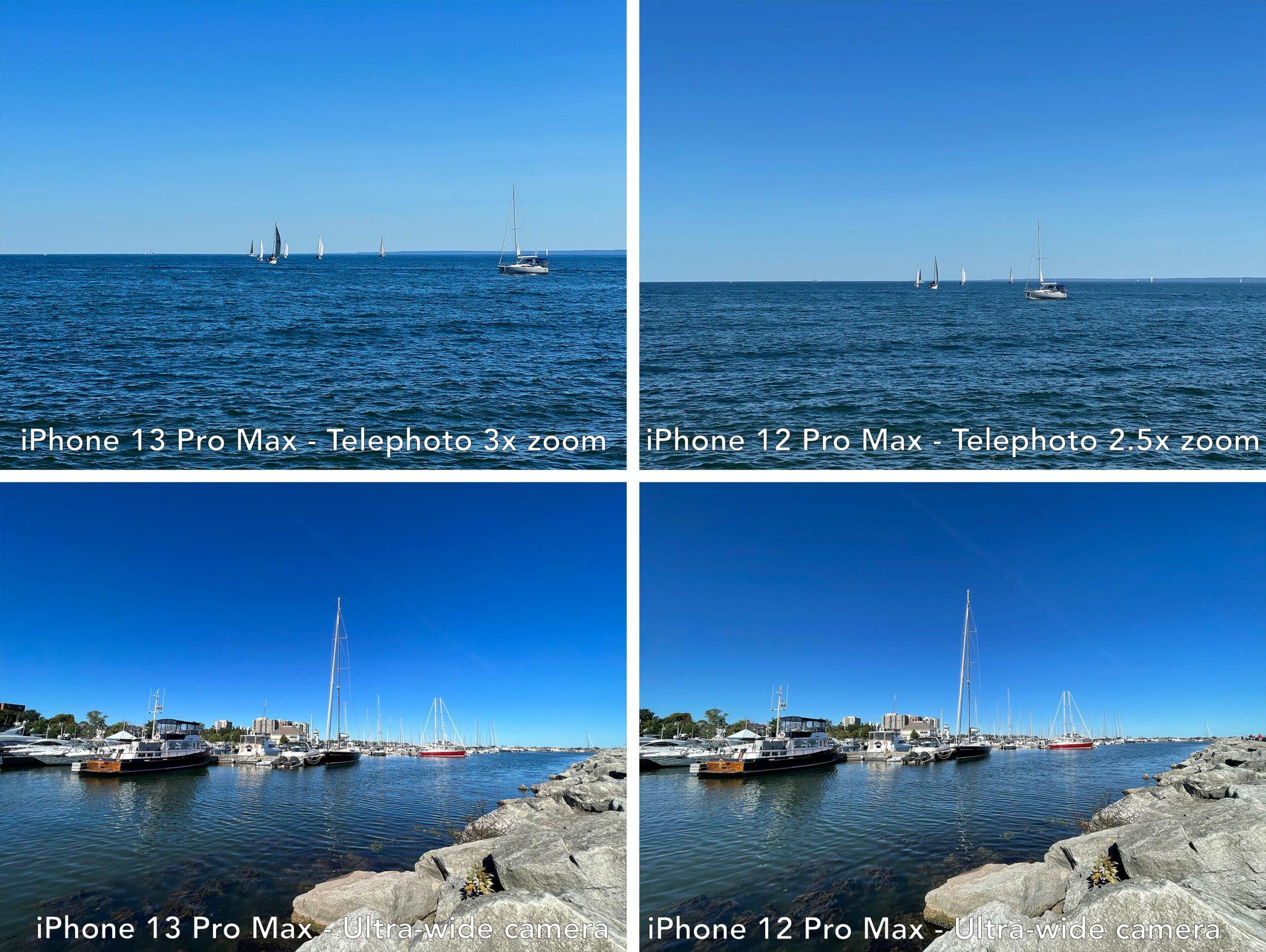 iPhone 13 Pro vs iPhone 12 Pro zoom comparison