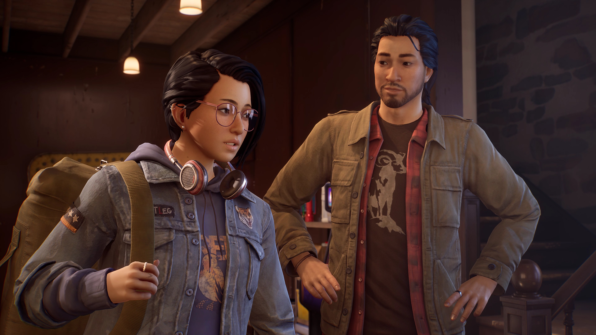 Life is Strange: True Colors Alex and Gabe