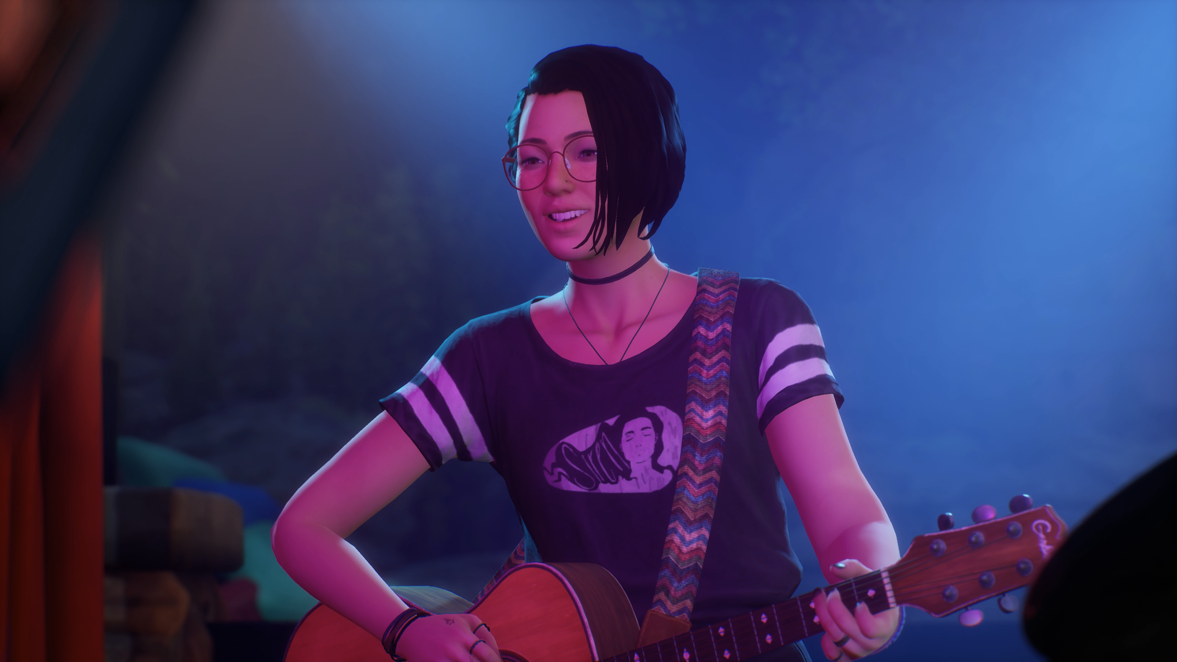 Life is Strange: True Colours Alex with guitar