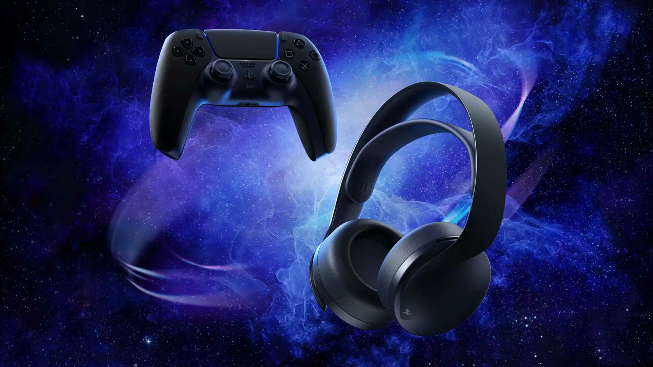 PS5 Midnight Black