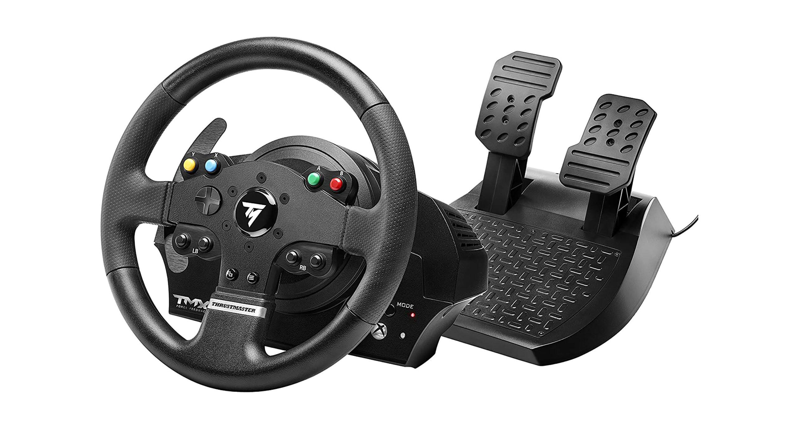 Thrustmaster racing wheel