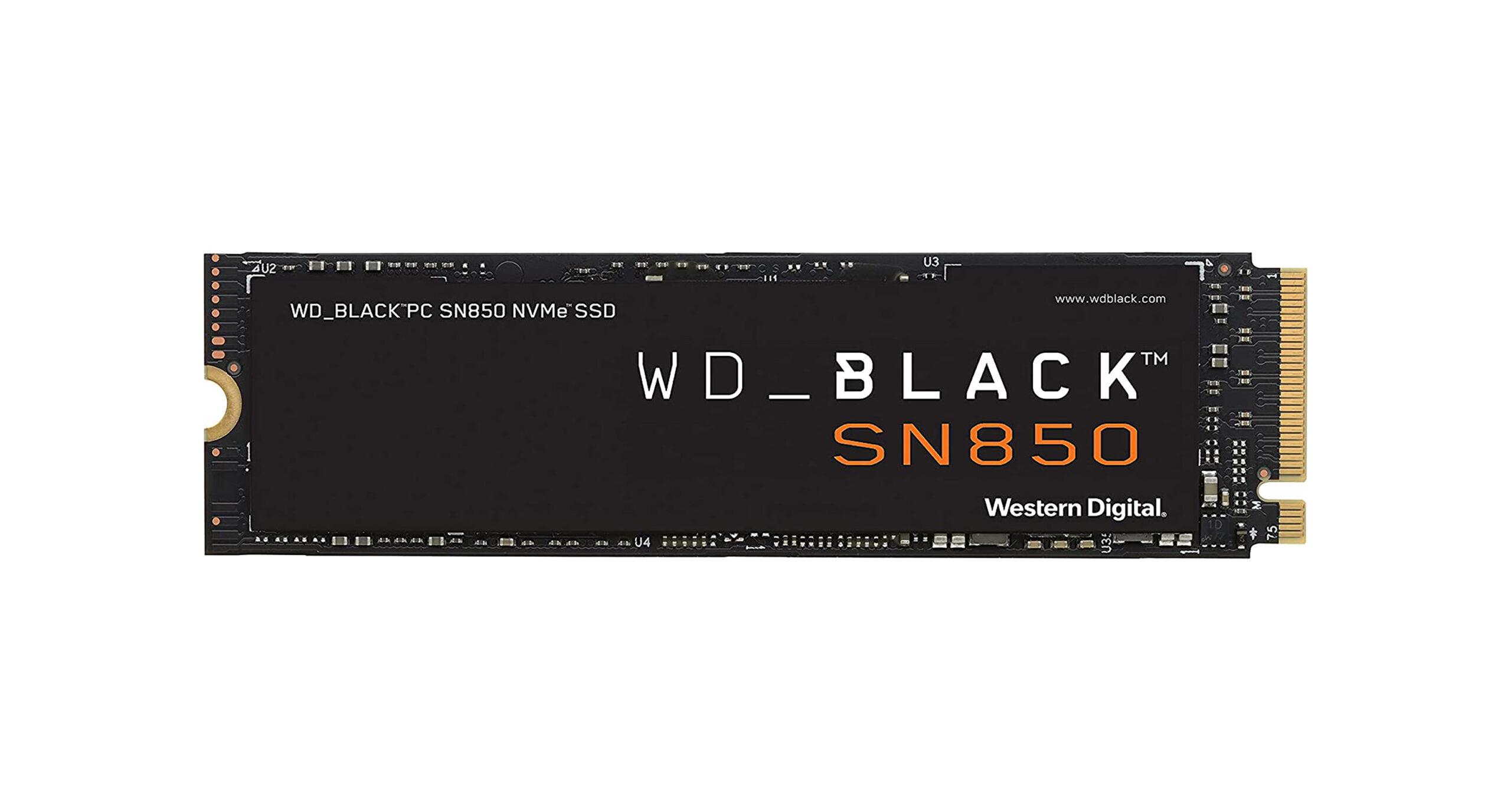Western Digital Black SN850 SSD
