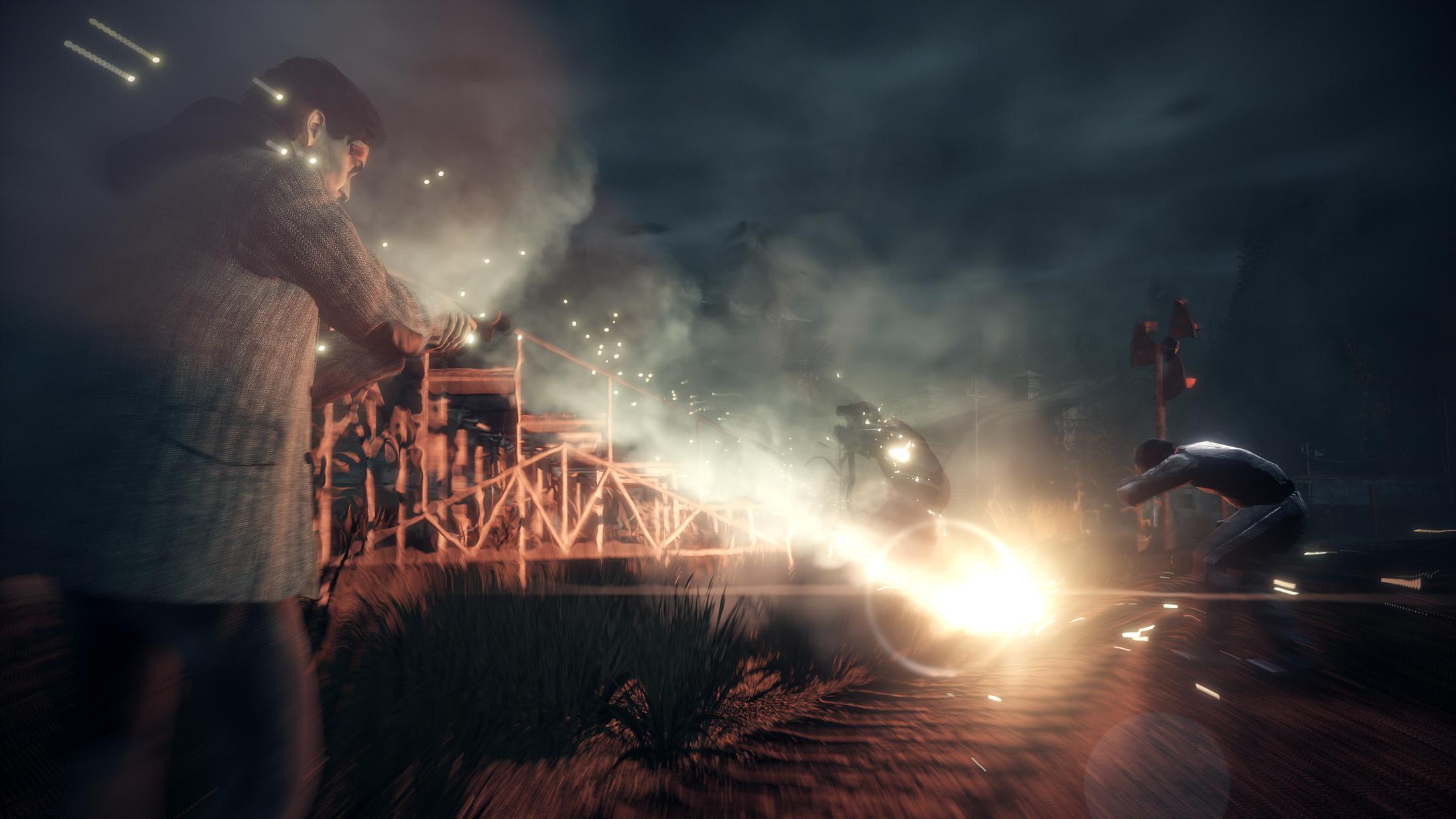 Alan Wake Remastered flare gun