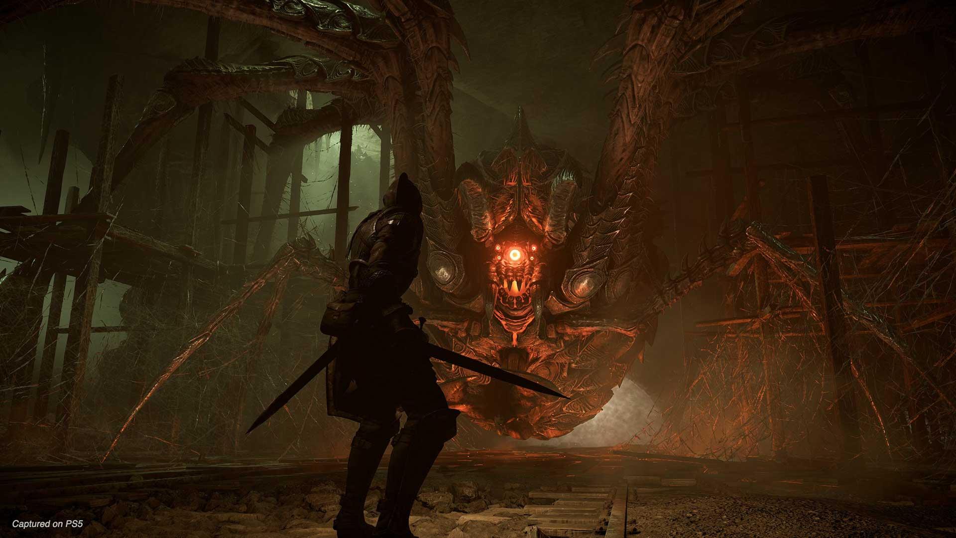 Demon's Souls PS5 spider
