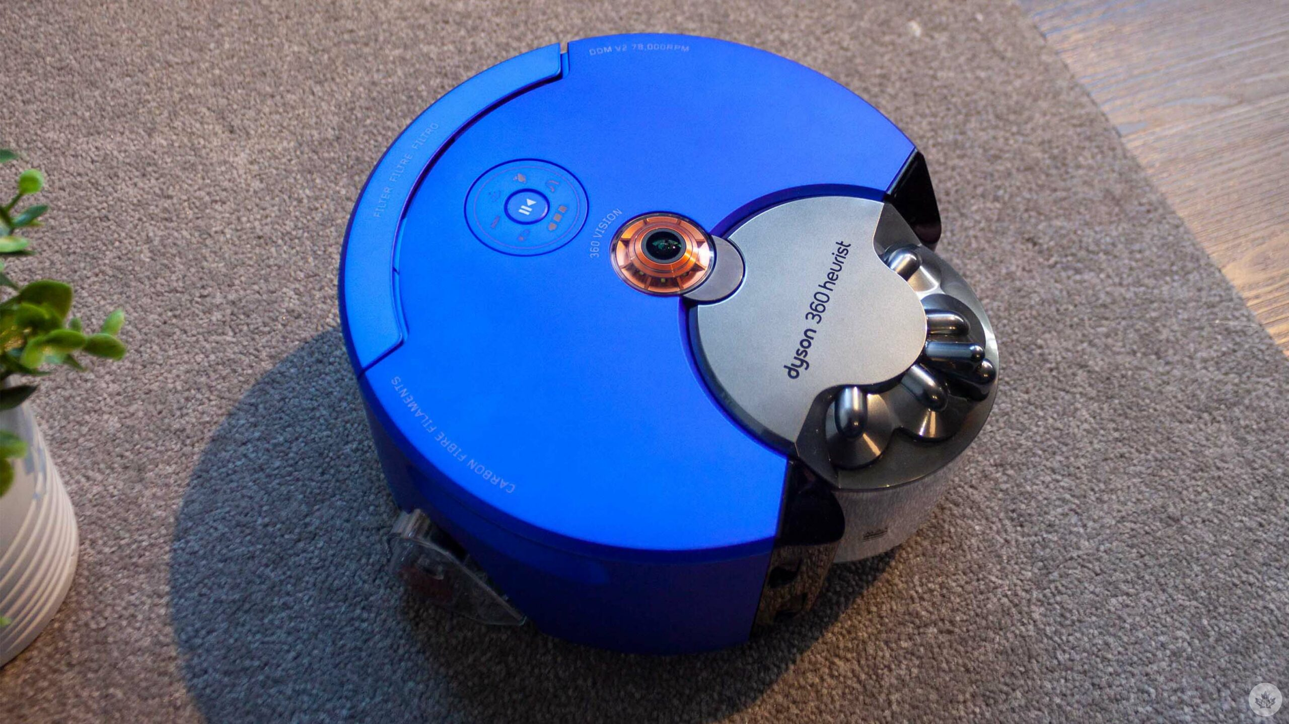 Photos of Dyson's upcoming robot vacuum revealed in FCC filing