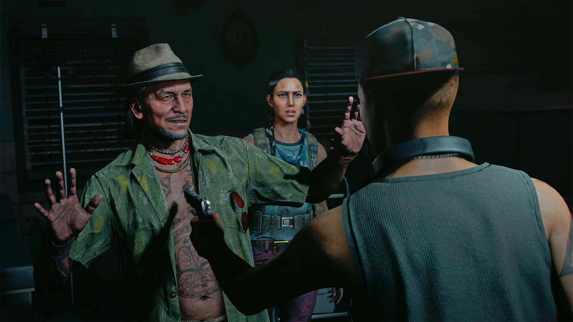 Far Cry 6 cast