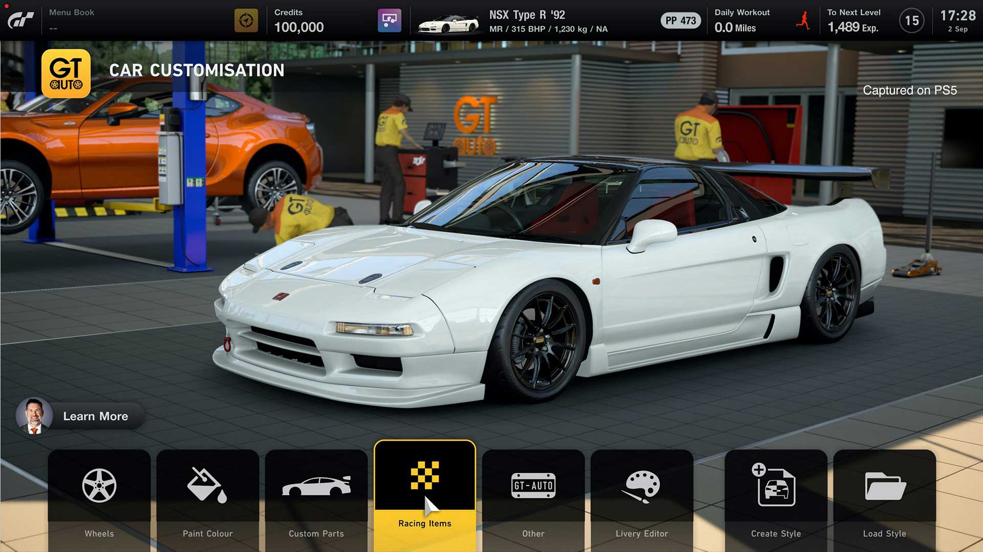 Gran Turismo 7 customization