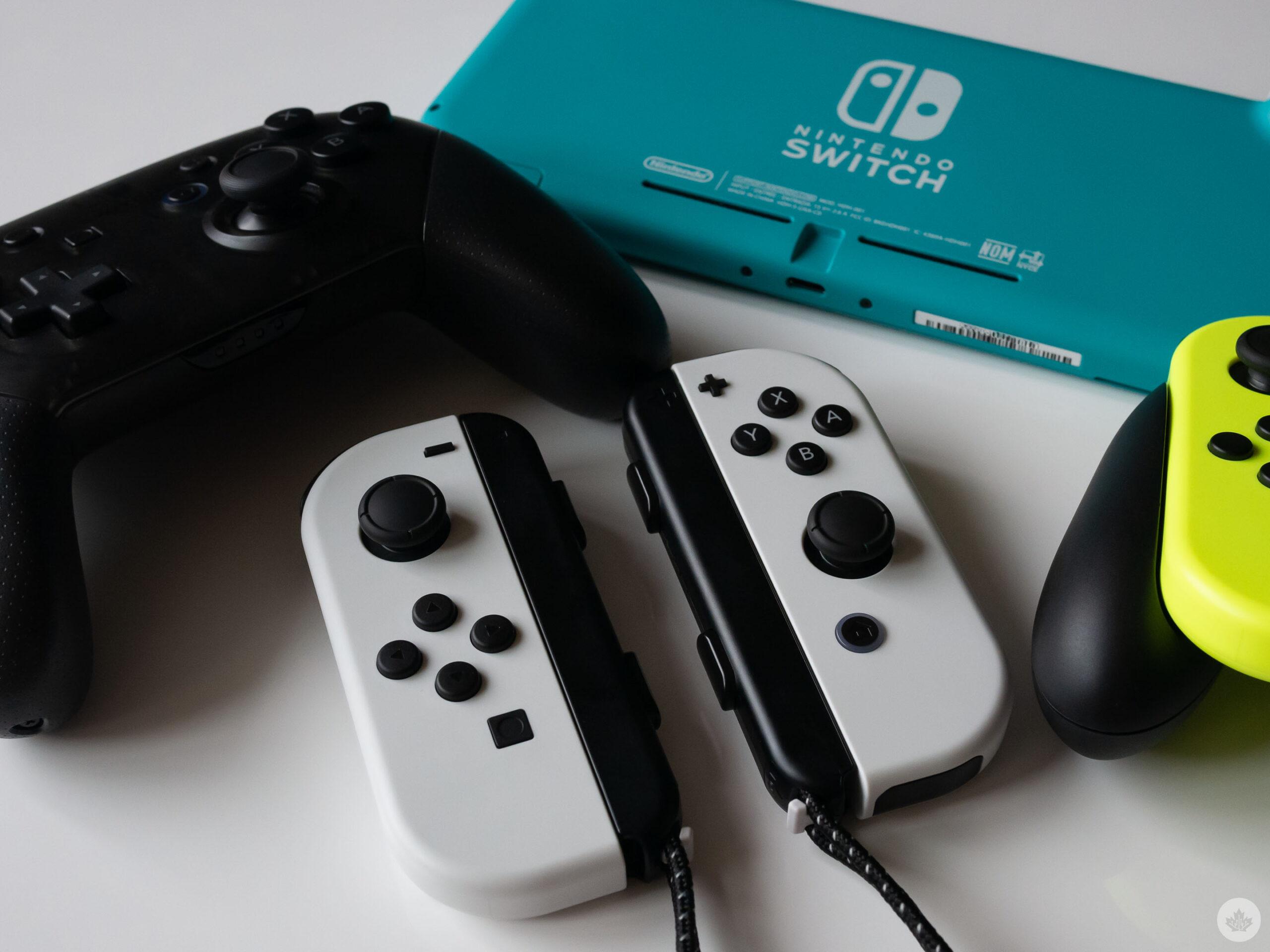 OLED Switch Joy-Cons