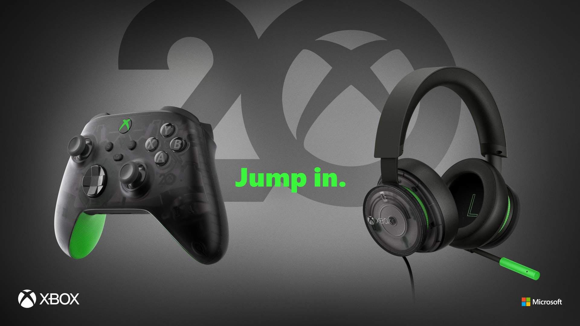 Xbox 20th-anniversary accessories